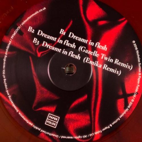 Nick Sutton - Dreamt In Flesh (Gazelle Twin Remix)