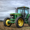 Big Green Tractor Black Country