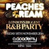 PEACHES & CREAM [London's Biggest R&B Party] - Friday 18th Nov 2016 Promo Mix - Mixed by Billgates