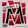 MAROON 5 & KENDRICK LAMAR - DON'T WANNA KNOW (SAFETY FIRST! REMIX) (Free Download)