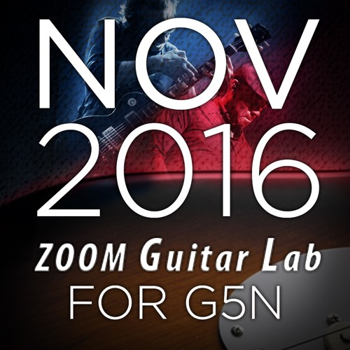 Zoom G5n Patches: November 2016 Release
