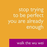 Stop Trying to Be Perfect - Walk The Wu Wei #001