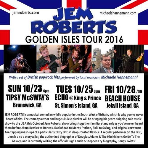 JEM ROBERTS: HALLOWEEN ON JEKYLL ISLAND!