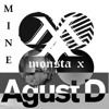JUNGKOOK/Agust D/MONSTA X - MINE [Begin vs So Far Away vs Perfect Girl vs Outro: Luv In Skool Mix]