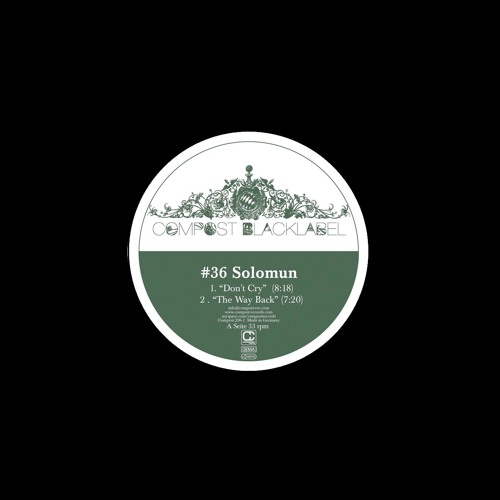 Solomun - The Way Back (Out now on Compost Records!)