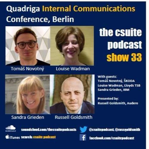Show 33 - Internal Communications - recorded at Quadriga, Berlin