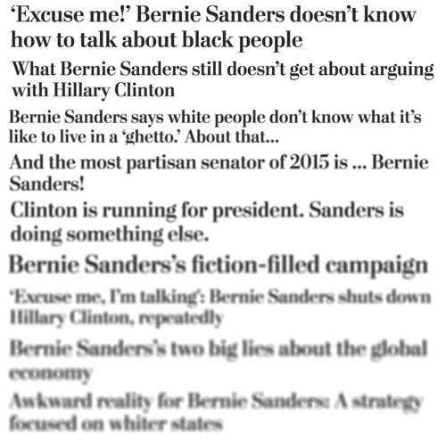 Bern after reading: Why the beltway press wrote off the possibility of Bernie Sanders.