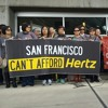 Hertz Car Shuttlers Fight Layoffs at SFO Airport
