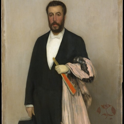 Arrangement in Flesh Colour and Black: Portrait of Theodore Duret by James McNeill Whistler