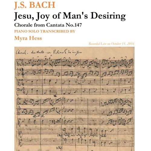 "Bach - ""Jesu, Joy of Man's Desiring"" - Jason Solomonides - Yamaha C3 after WNG installation"