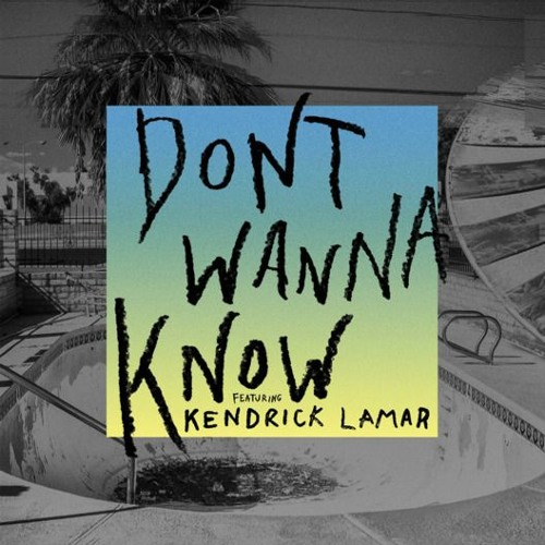 Maroon 5 feat Kendrick Lamar-Dont Wanna Know (cover by Nicco Savero)