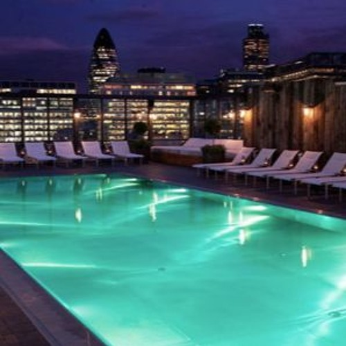 Deep House Podcast live at Shoreditch House Poolside 2015 for Its Rude To Stare
