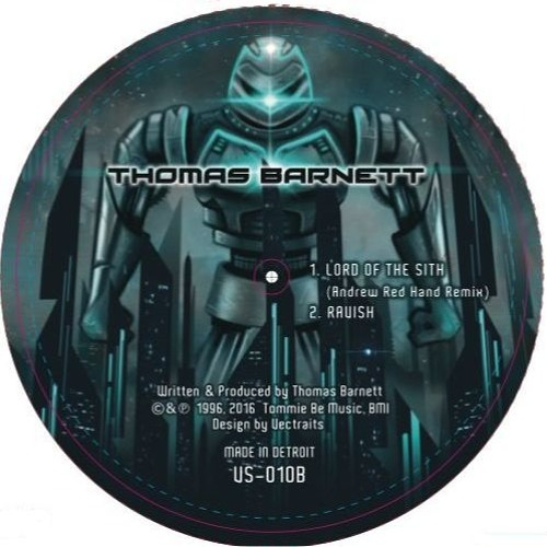 Thomas Barnett - Lord Of The Sith (Andrew Red Hand Remix)on Visillusion, Detroit