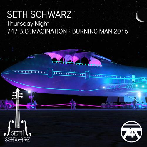Seth Schwarz - 747 Big Imagination - Burning Man 2016