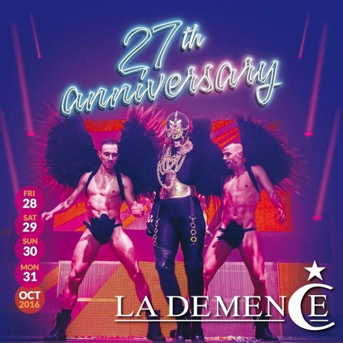 Ben Manson Live At La Demence 27th Anniversary (Opening Party)