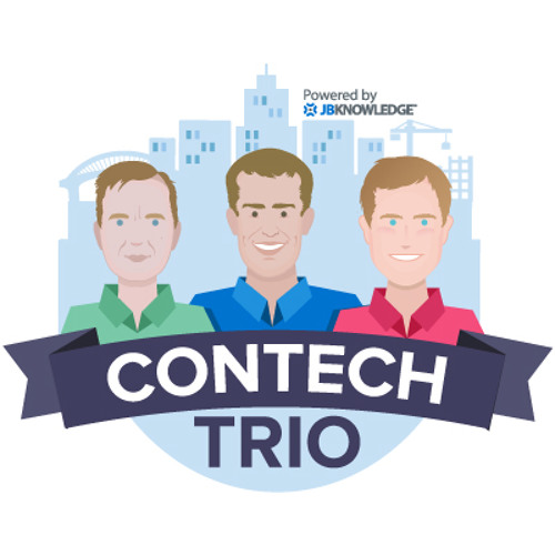 ConTechTrio - Talking Construction Tech - #ConTechTrio Episode 41 - Jason Waddell @WaddelJason from @batsoncook! Talking about Photogrammetry uses cases in Construction.