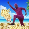 PINK GUY COOKS RAMEN AT BREAKDANCE BEACH (Speed Ver.)