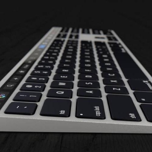 MyApple Daily (S04E043) #268: Klawiatura Magic Keyboard z panelem Touch Bar - tak mogłaby wyglądać