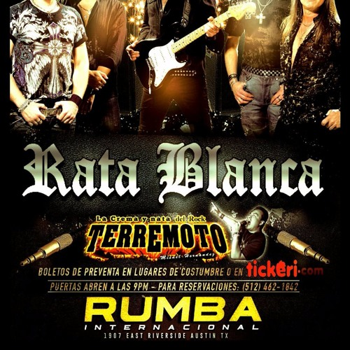 Download Taki Taki Rumba Audio: RATA BLANCA EN AUSTIN TX LA RUMBA INTERNACIONAL By