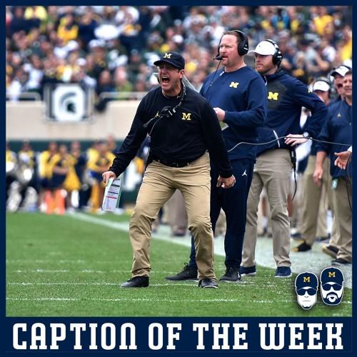 Caption of the Week: Game Intensity Week 9