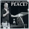 Justin Box (30th Oct 2016) What Do You Know About Peace?
