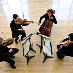 About Bach, Quatuor Bozzini, premiere, excerpt: last 6 minutes (2015)