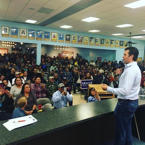 Navajo Republican Rally November 4 2016