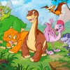 Sharptooth And The Eartquake - The Land Before Time