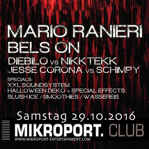 Mikroport Club, Krefeld, Germany 29.10.2016