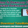 Click Here To Download TubeMate YouTube Downloader App