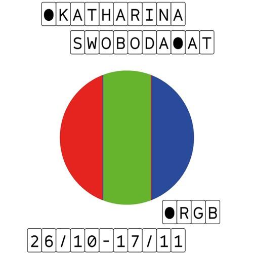 Galerie Klubovna: RGB (Katharina Swoboda) EN