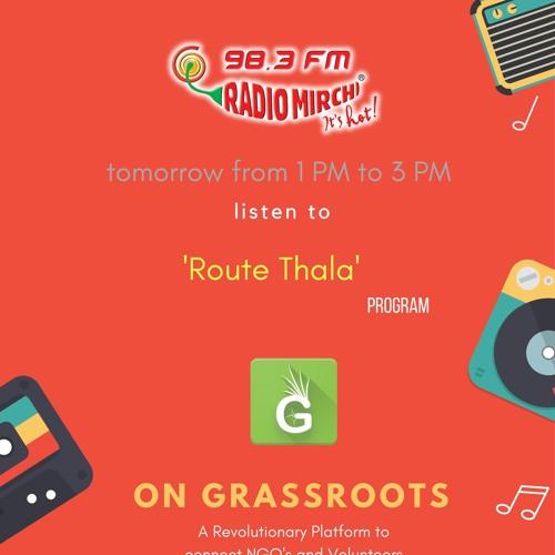 Grassroots - Saiyasodaran & Sathish with RJ Vijay | Radio Mirchi 98.3