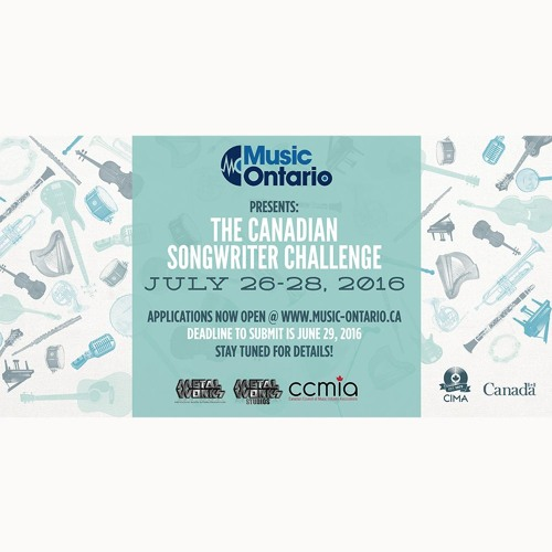 2016 Canadian Songwriter Challenge - Ontario Edition