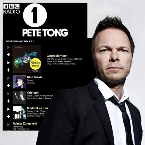Pete Tong BBC Radio 1 Weekend Hot Mix Nov 4 2016 Glenn Morrison - Into The Deep (Ewan Pearson Remix)