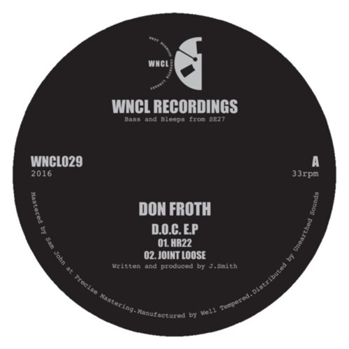 Don Froth - D.O.C. EP - WNCL029