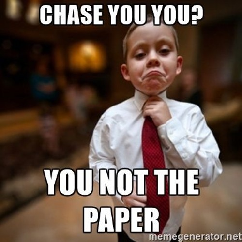 Cant Chase