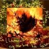 el árbol de pascua se está incendiando y no hay nadie en casa