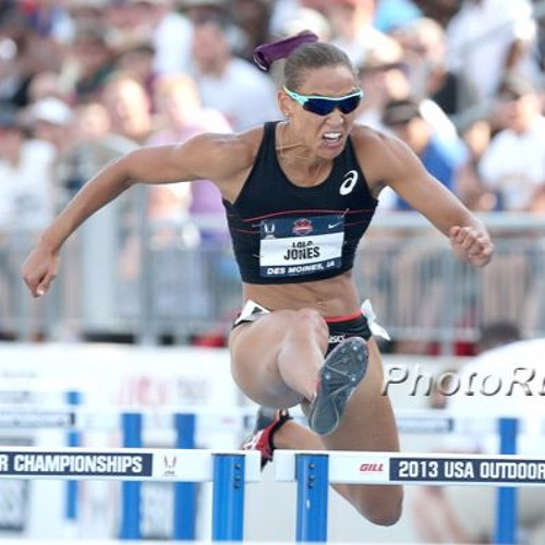 Lolo Jones speaks on hurdles and bobsleds