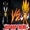 Dark Sonic Vs Fleetway Super Sonic (DeathMetal X Hip Hop) Theme