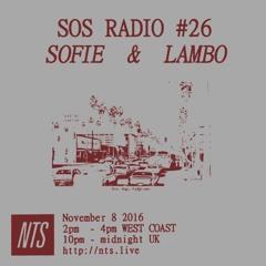 SOS RADIO 026 ft. Lambo - NTS