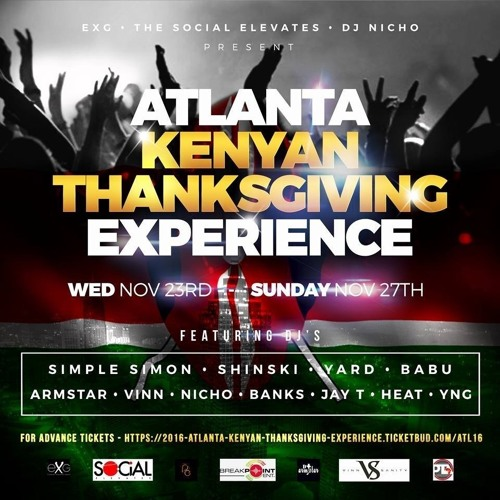 2016 ATLANTA THANKSGIVING PROMO MIXTAPE //DJ YARD//DJ SHINSKI//DJ SIMPLE SIMON//