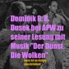 Dominik R. R. Dusek bei APW zu seiner Kurzgeschichte mit Musik