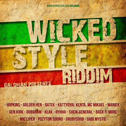 [2016] KattyGyal Kenta, MC Mikael - Warrior Reggae (Wicked Style Riddim prod. Baloman)