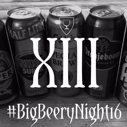 Beernomicon XIII - #BigBeeryNight16: Off-License Beers