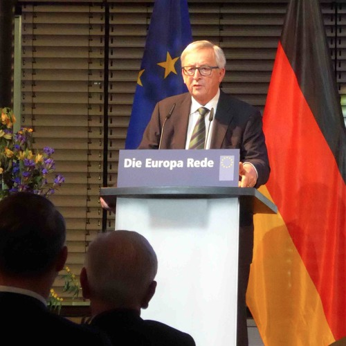 Jean-Claude Juncker explique la communication européenne à Kiez.FM