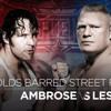 WWE Mashup- Brock Lesnar And Dean Ambrose Next Big Retaliation