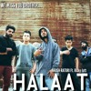 Halaat - AKASH RATURI Ft. Risky Jatt (Prod. by Ajay) - Official audio - Gali hip hop