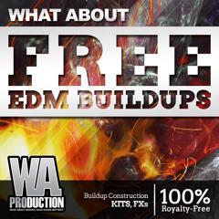 "FREE EDM Buildups [100K YouTube Subscribers ""Thank You"" Freebie Vol. 3]"