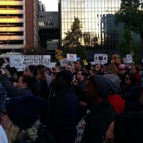 Anti - Trump Rally