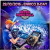 DJ Enrico - Live From Retro Music Hall (Enrico Bday Mix) 29 - 10 - 2016